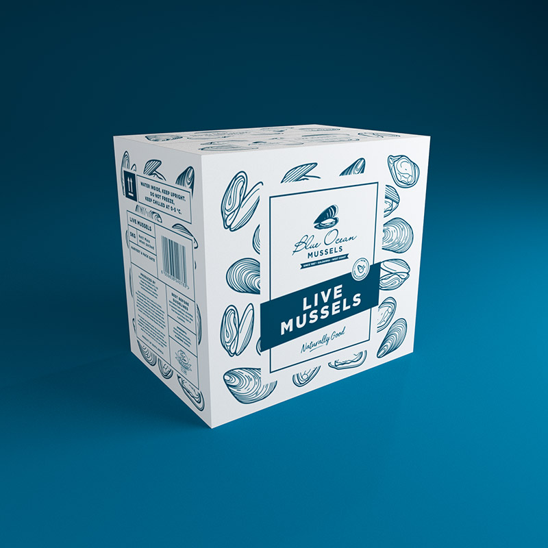 Packaging – Blue Ocean Mussels