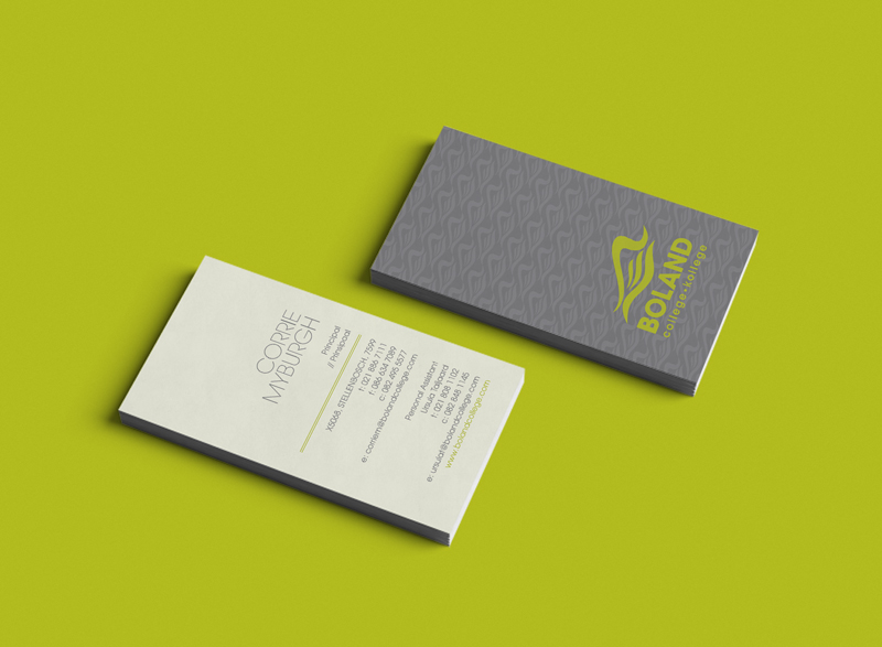 Corporate Stationery – Boland College