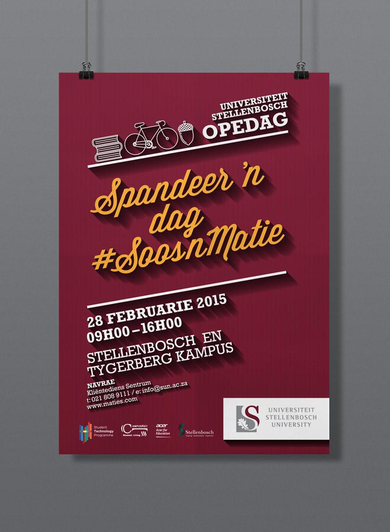 Open Day Poster – Stellenbosch University