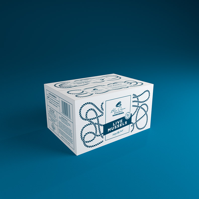 Blue Ocean Mussels Packaging - Fishgate