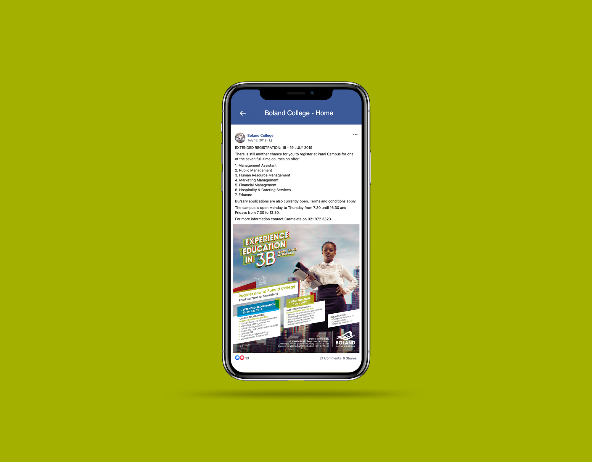Social Media – Boland College