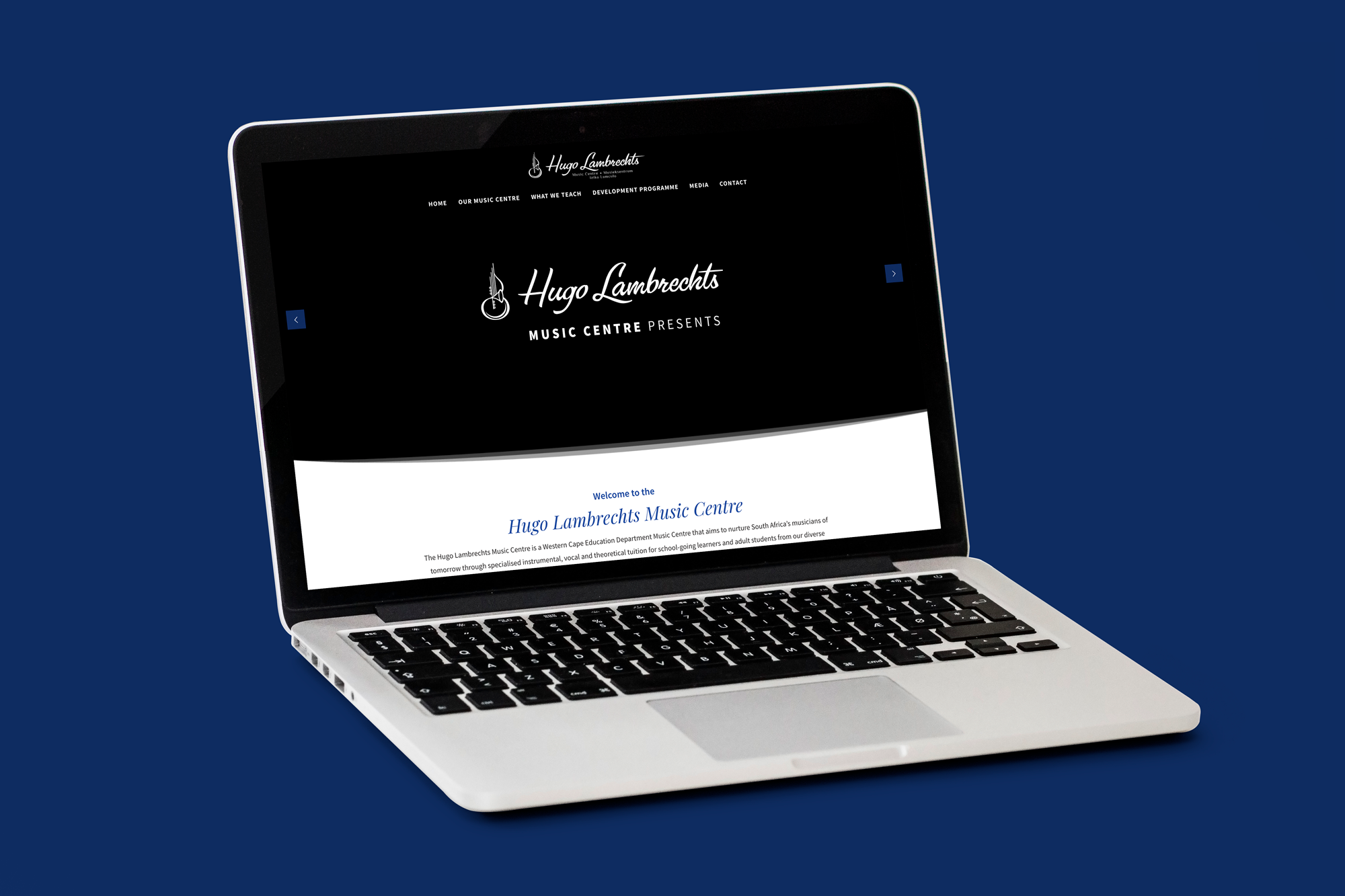 Website – Hugo Lambrechts Music Centre