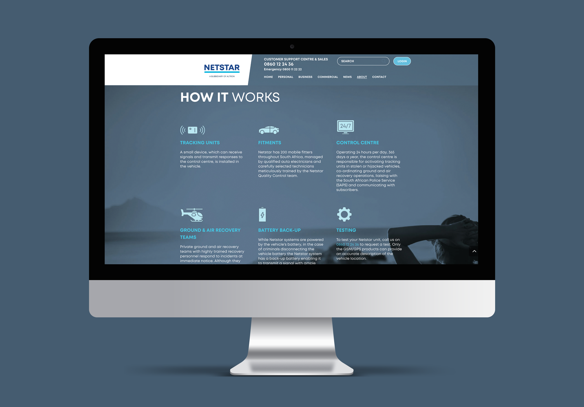 Website – Netstar