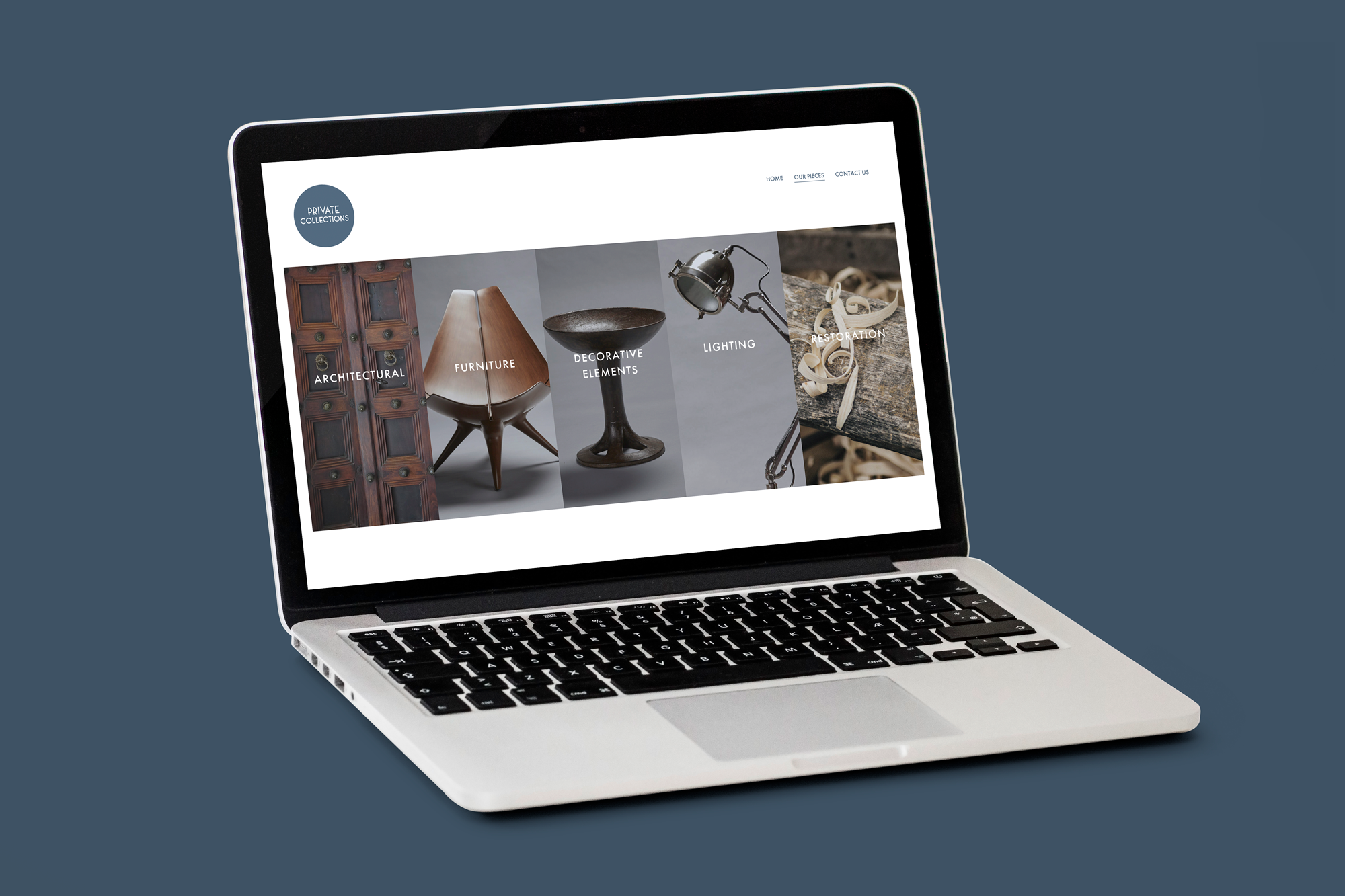 Website – Private Collections