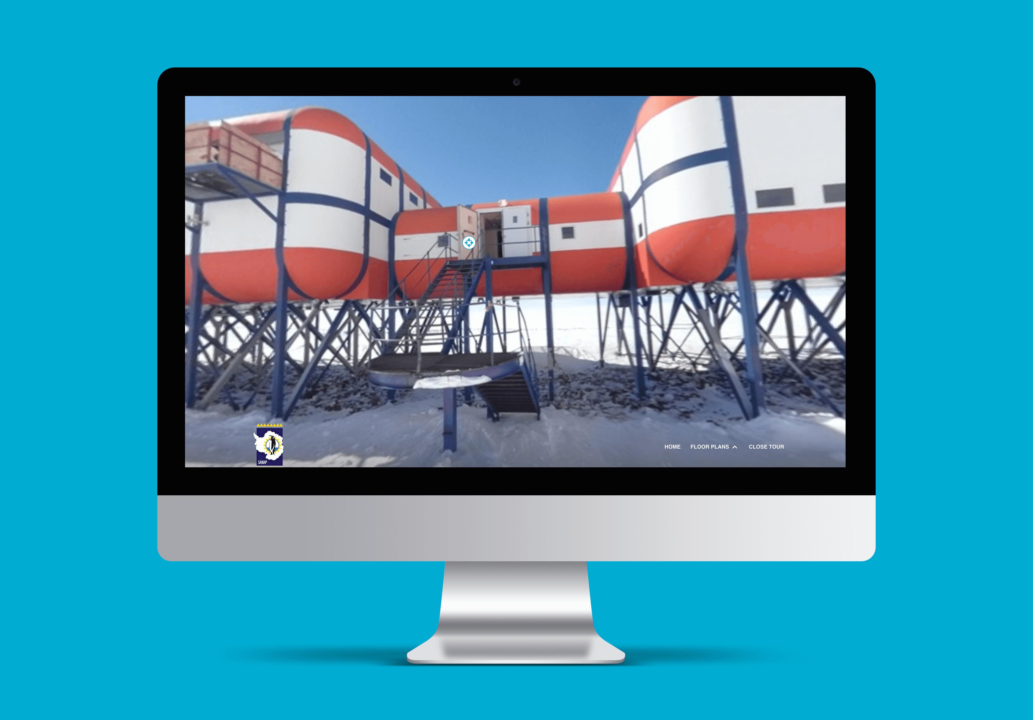 Website – SANAE in 360º