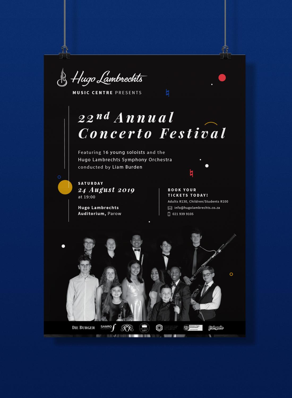 Poster – Hugo Lambrechts Music Centre