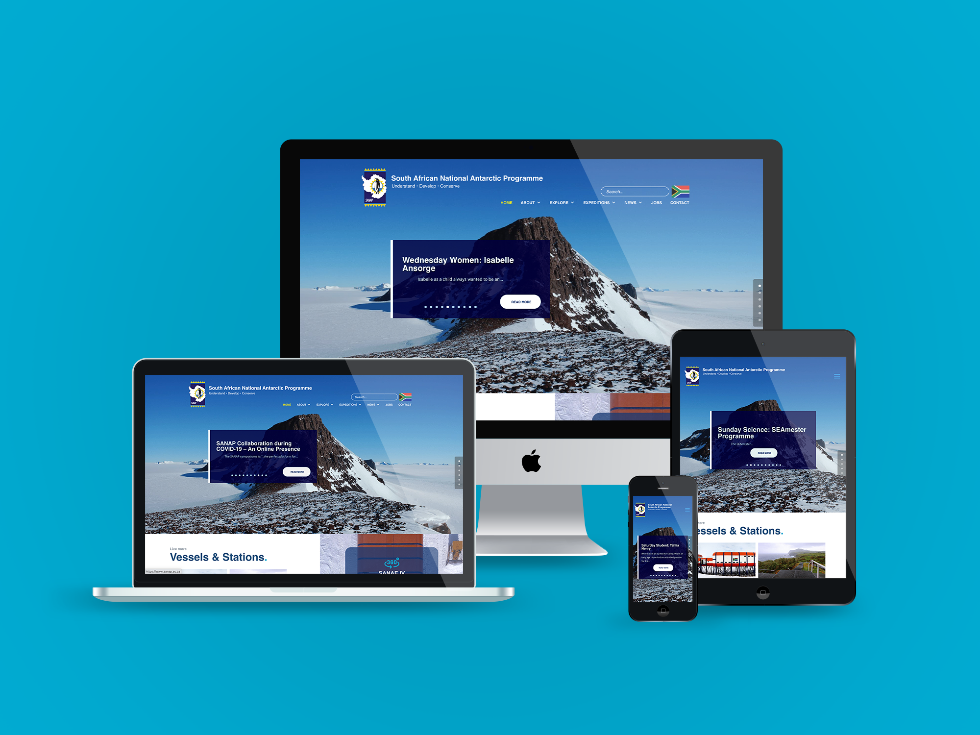 Website – SANAP